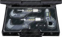Digitální třmenové mikrometry v sadě TESA 06030029