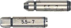Měřicí vložky pro mikrometry na závity Schut 906.725