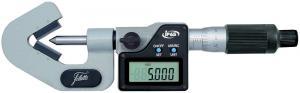 Mikrometr digitální s prizmatickým třmenem s krytím IP65