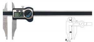 Digitální posuvné měřítko s horními čelistmi pro vnější měření s krytím IP67